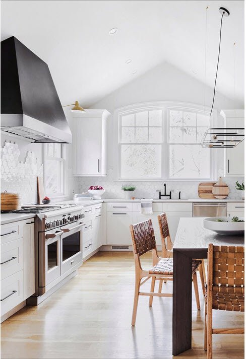 Long View of Kitchen