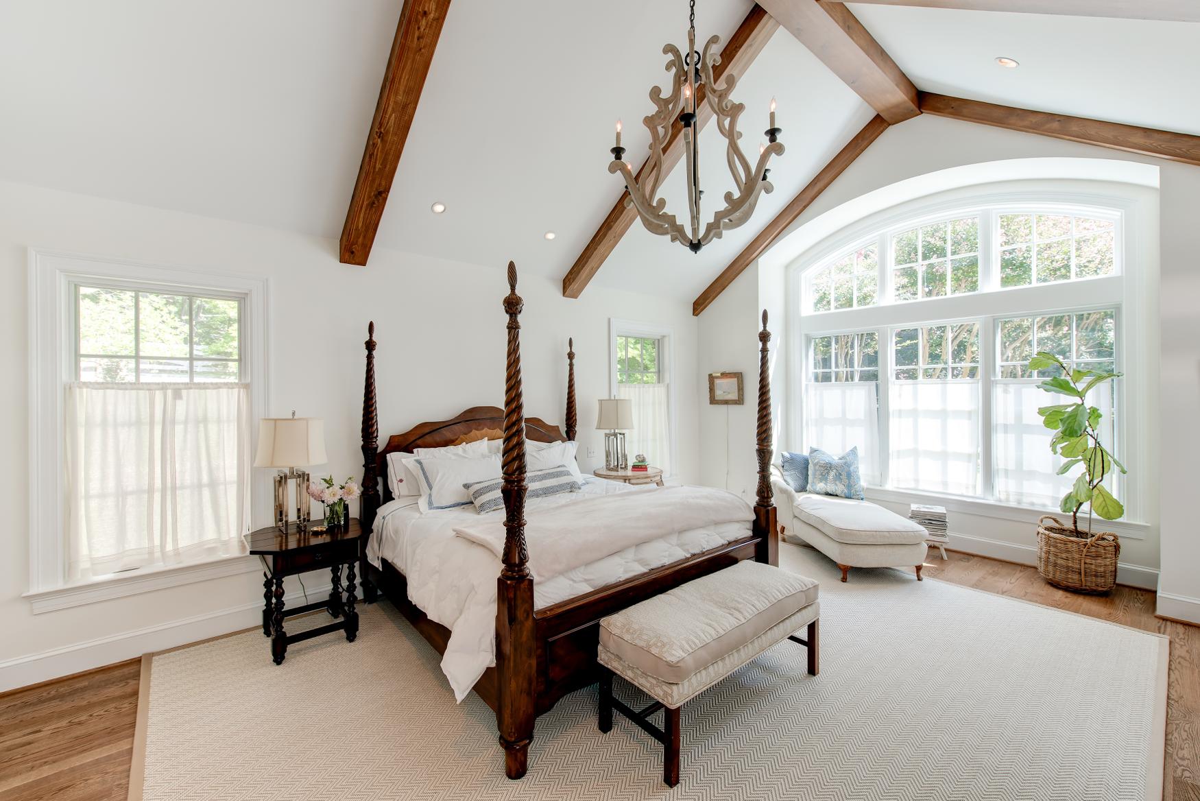 Interior Master Bedroom Addition