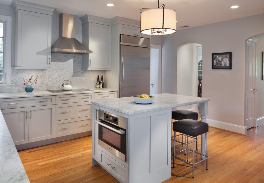 Kitchen Island and Appliances